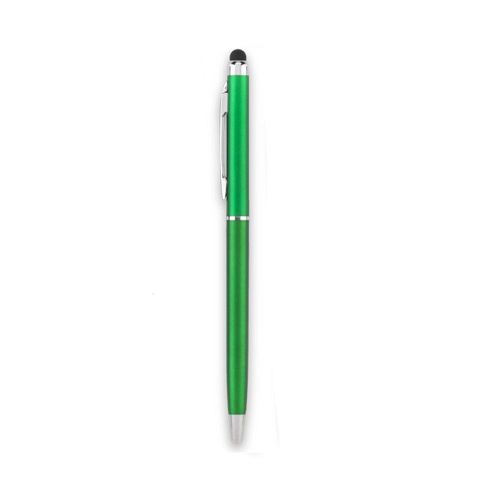 Esfero Boligrafo Balmax Aluminio Stylus Clip Metalico - Verde