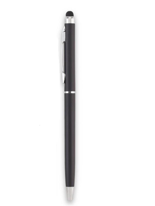 Esfero Boligrafo Balmax Aluminio Stylus Clip Metalico - Negro