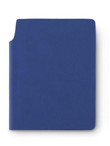Libreta Cuaderno Bloc de Notas Newton En Poliuretano - Azul Oscuro
