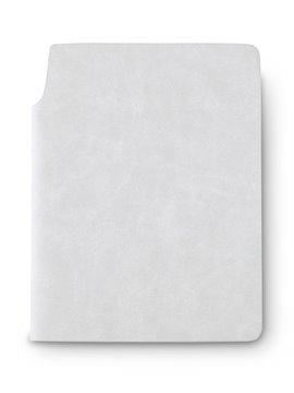 Libreta Cuaderno Bloc de Notas Newton En Poliuretano - Gris