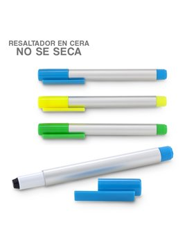 Clip Linterna Elaborada en Plastico Para Visor de Gorras - Blanco