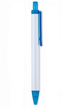 Portamensajes En Plastico Con Clip Tipo Jumbo - Azul