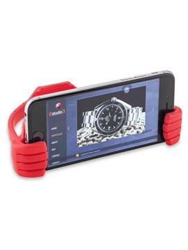 Multi Puerto USB Warwick 4 Puertos Soporte para Celular - Azul