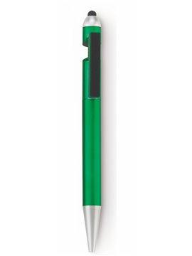 Esfero Boligrafo Lapicero Elliot Portacelular y Limpiador - Verde