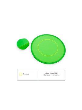 Tijeras Portatiles Mini en Plastico para Papel - Verde Limon