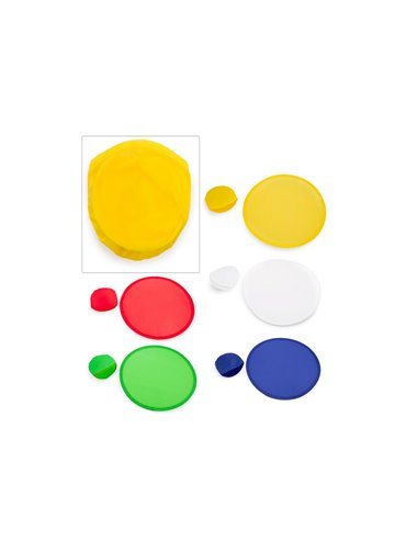 Frisby Frisbee Plegable Foldable Park con Estuche - Blanco