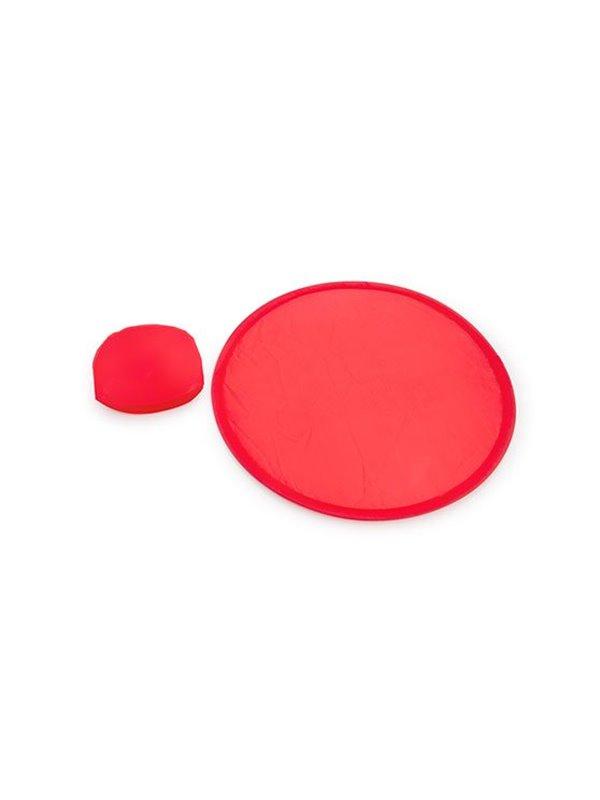 Frisby Frisbee Plegable Foldable Park con Estuche - Rojo