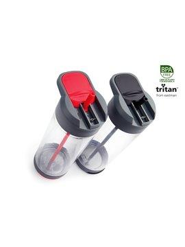 Pastillero Plastico Diseño Ovalado 3 Compartimientos - Rojo