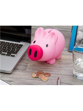 Alcancia Piggy Teen en Plastico Diseño De Cerdito - Rosado