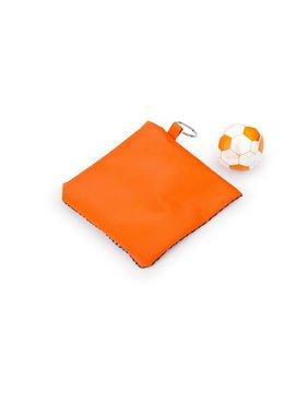 Paño Magico Toalla Comprimida Sport Diseño de Balon - Naranja