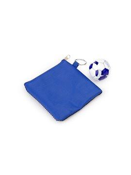 Paño Magico Toalla Comprimida Sport Diseño de Balon - Azul Rey