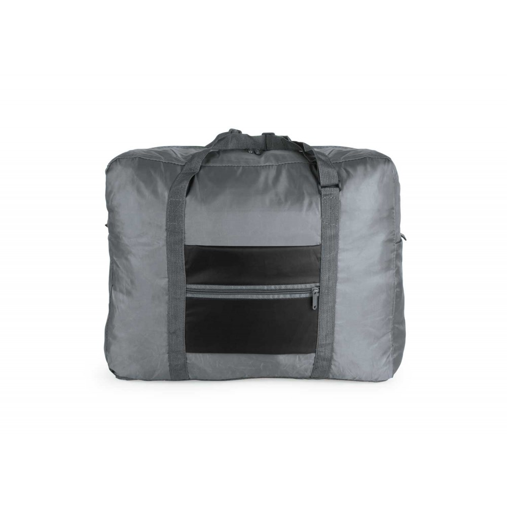 Maletin Plegable Foldable Travel con Cremallera - Negro