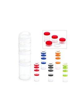 Audifonos Venture Practico Estuche Elaborado en PVC - Rojo