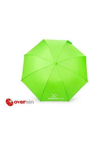 Sombrilla Paraguas Neon 21 Pulgadas Apertura Automatica - Verde Limon