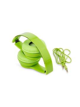Audifonos Chill Almohadillas Acolchadas Plegables Removible - Verde Limon