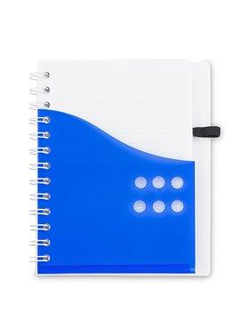 Cuaderno Libreta Dual Band Cubierta en PU 80 Hojas A6 - Verde Limón