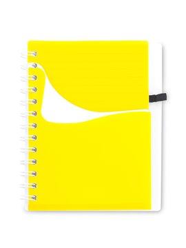Cuaderno Libreta Dual Band Cubierta en PU 80 Hojas A6 - Azul Rey