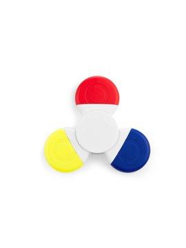 Fidget Spinner Resaltador de Tres Puntas Forma Trebol en ABS - Tricolor