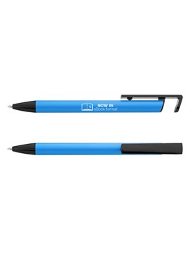 Bloc Libreta Seliger Paja Compartimiento Frontal Smartphone - Azul