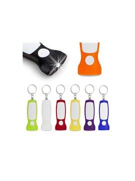 Porta Clips Imantado Anti-Stress en Plastico con 8 Clips - Blanco