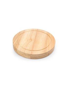 Set de Quesos Roquefort 4 Cuchillos y Tabla En Madera - Bamboo