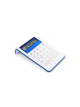 Calculadora Genius Elaborada en Plastico 12 Digitos - Azul Rey