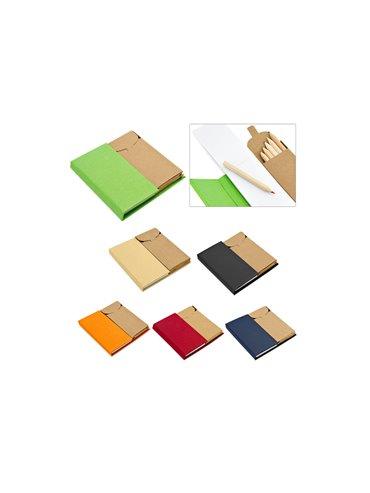Memo Pad 60 Hojas Colors Caja de Colores Incluida Tamaño A8 - Natural