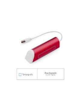 Multiconector Set de Carga Polite PVC con Estuche Plastico - Azul Rey