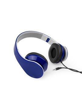 Audifonos Foldables Dial Plegables Elaborados en ABS - Azul Rey