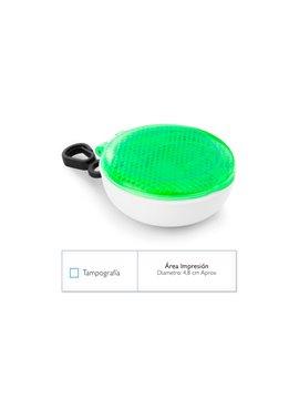 Limpiador de Gafas Sun Paño en Microfibra Y Estuche en PVC - Verde Limón