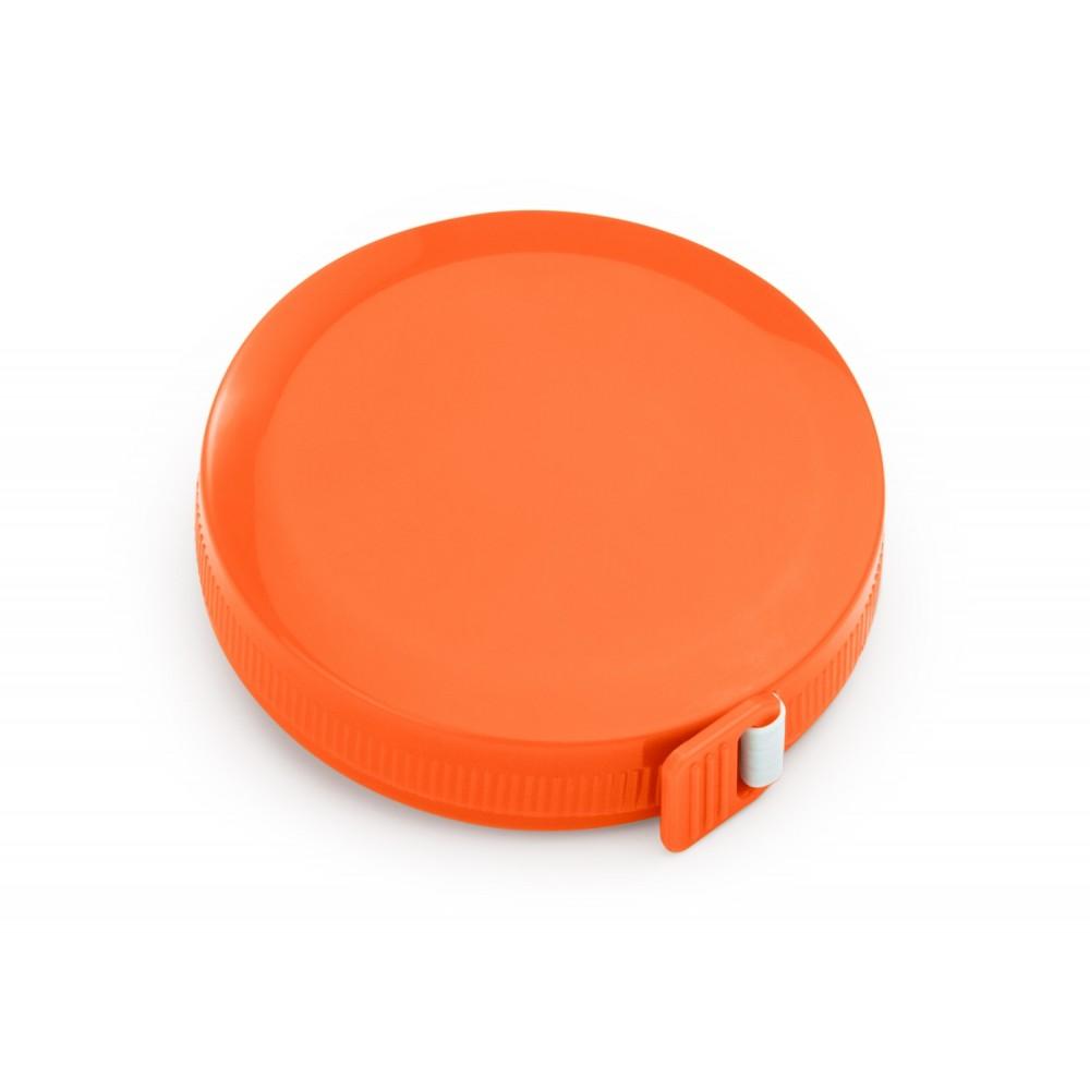 Cinta Metrica Round con cubierta circular 1.5 metros - Naranja