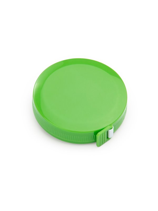 Cinta Metrica Round con cubierta circular 1.5 metros - Verde Limon