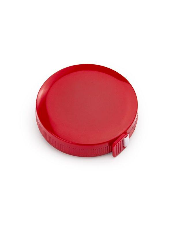 Cinta Metrica Round con cubierta circular 1.5 metros - Rojo