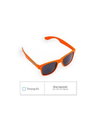 Gafas Lentes de Sol Deportivos Chicago Color Solido - Naranja