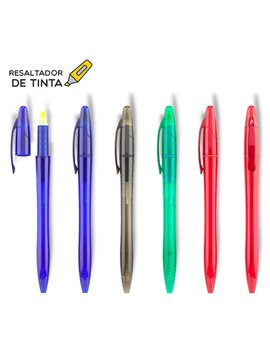 Esfero Boligrafo Cataluña Antideslizante Elaborado en ABS - Verde Limón