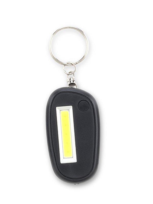Llavero Linterna Dos Modos de Luz Fija e Intermitente - Negro