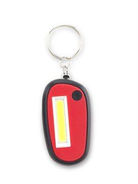 Llavero Linterna Dos Modos de Luz Fija e Intermitente - Rojo
