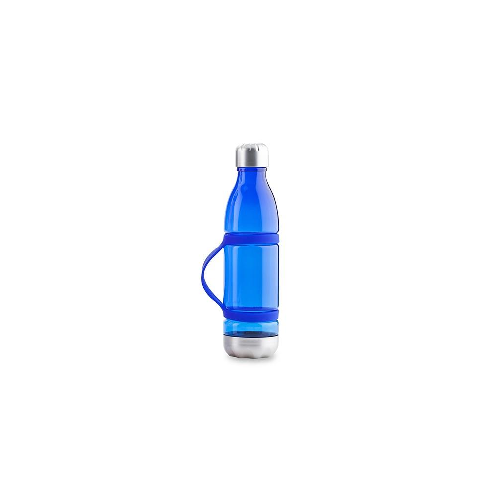 Botella Botilito En Tritan Dominic 600ml en Silicona - Azul