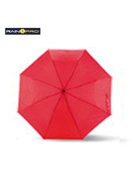 Sombrilla Mini Paraguas Cameron 8 Cascos Poliester Manual - Rojo