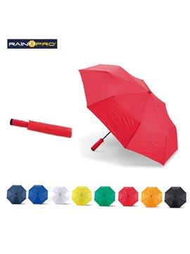 Sombrilla Mini Paraguas Cameron 8 Cascos Poliester Manual - Naranja