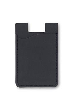 Portadocumentos Portatarjetas Adhesivo En Poliuretano - Negro