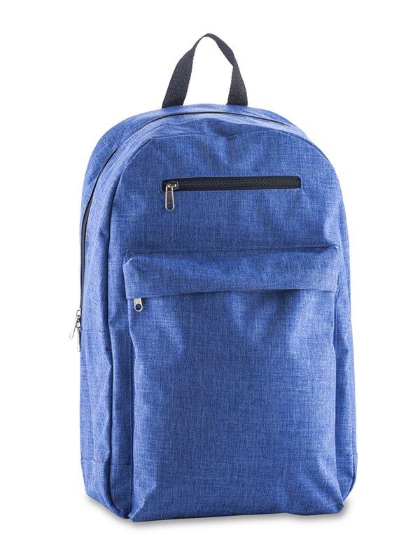 Maleta Morral Backpack Clemence Elaborado en Poliester - Azul Royal