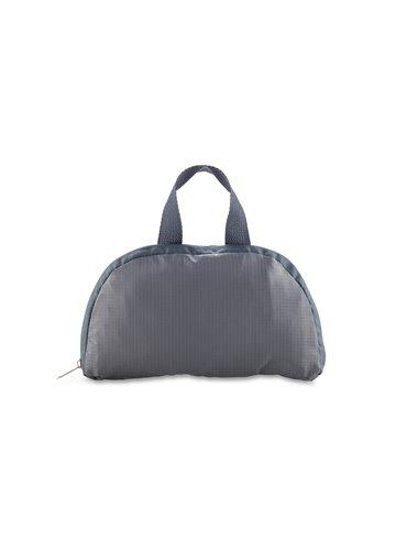 Maleta Morral Backpack Plegable Molly en Poliester - Gris
