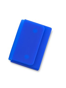 Parlante Altavoz Bluetooth Blues Funcion Manos Libres y Luz - Plateado / Azul