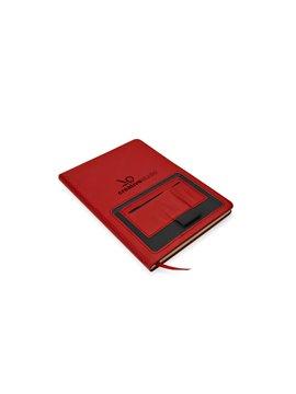 Lonchera Jesel Poliester Interior Metalizado Bolsa Frontal - Rojo