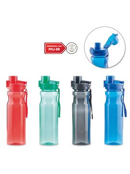 Esfero Boligrafo en Plastico Acabado Brillante - Azul