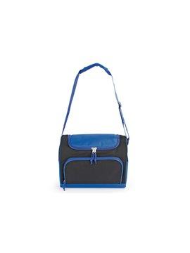 Lonchera Track Termica con Cargadera Ajustable y Bolsillos - Azul