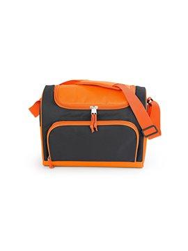 Lonchera Track Termica con Cargadera Ajustable y Bolsillos - Naranja