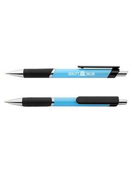 Esfero Boligrafo Plastico Incluye Spinner - Azul