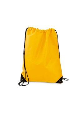 Duncan Bag Bolsa Tula Mochila con cordon para ajustar - Amarillo